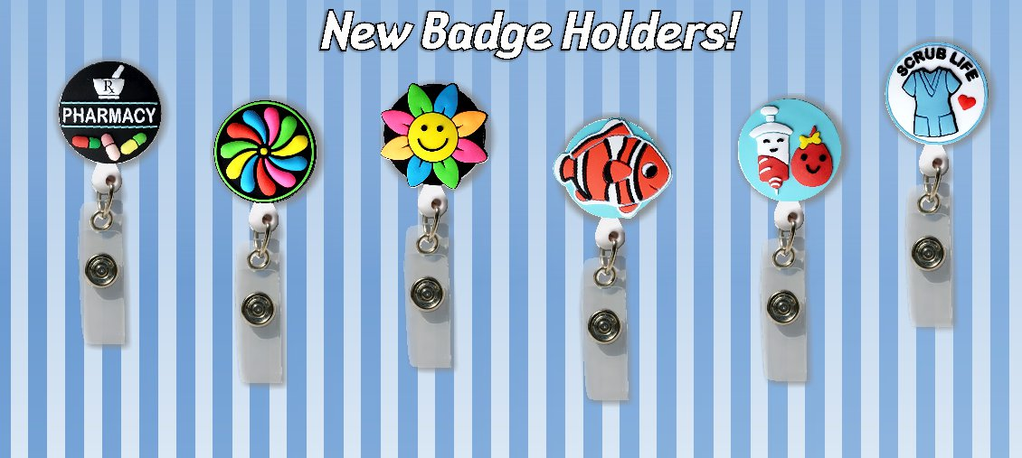 New Badge Holders