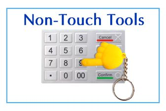 Non-touch tools
