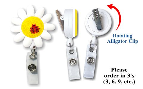 Retractable Badge Holder with Daisy