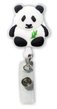 Retractable Badge Holder with Panda