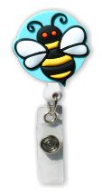 Bee Badge Holder