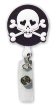 Skull Badge Holder