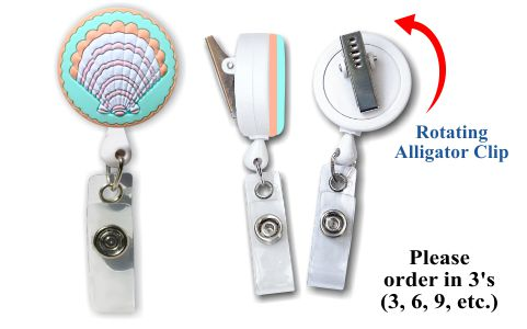 Retractable Badge Holder with Shell