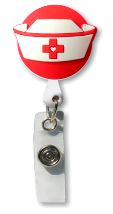 Retractable Badge Holder with Nurse's Hat