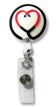 Retractable Badge Holder with Stethoscope