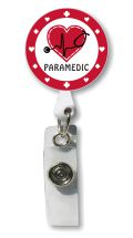 Paramedic Retractable Badge Holder