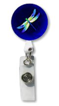 Dragonfly Retractable Badge Holder