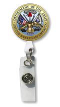 Army Seal Retractable Badge Holder