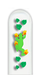 Glass Nail File: Frog