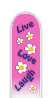 Glass Nail File: Live, Love, Laugh