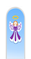 Glass Nail File: Angel