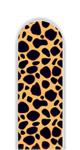 Glass Nail File: Leopard Print