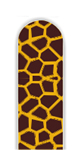 Glass Nail File: Giraffe
