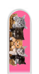 Glass Nail File: Cats