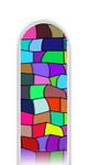 Glass Nail File: Stained Glass