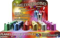Flameless LED Votives