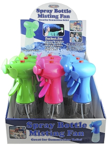 Spray Bottle Misting Fans