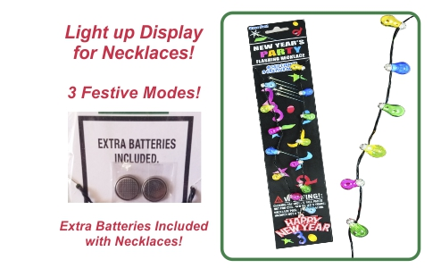 New Year's Party Flashing Necklaces
