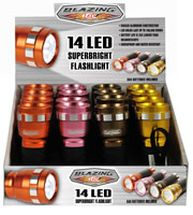 Flashlights 14 LED Cool Colors