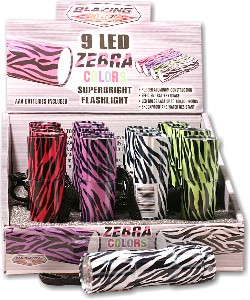 Zebra Flashlights