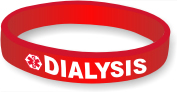 Silicone Medical Alert: Dialysis