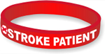 Silicone Medical Alert: Stroke Patient