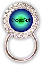 Eyeglass Holder: Coexist