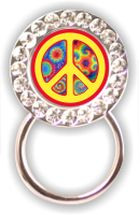 Eyeglass Holder: Peace Sign