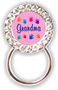 Rhinestone Eyeglass Holder: Grandma