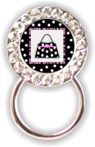 Rhinestone Eyeglass Holder: Purse