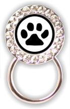Rhinestone Eyeglass Holder: Paw Print